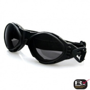 Zan Headgear BA001 Bugeye Goggle Black Frame Smoke Lens