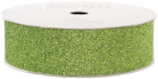 American Crafts AC-GT-96069 Glitter Paper Tape 3 Yards-Spool-Spinach .2222.5cm .