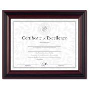 DAX Document Frame, Insert 22cm x 28cm , Frame 27cm x 33cm , Rosewood/Black