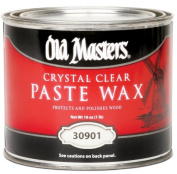 Old Masters 30901 0.45kg Crystal Clear Paste Wax