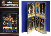 C & I Collectables 2010MAVSTS NBA Dallas Mavericks Licenced 2010-11 Donruss Team Set Plus Storage Album