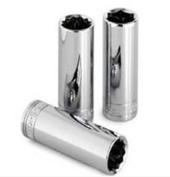 S K Hand Tools SKT8417 3/8 Inch Drive Deep 6 Point Socket - 17mm