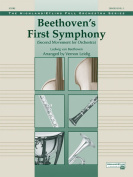 Alfred 00-24974 Beethoven s First Symphony- Second Movement - Music Book