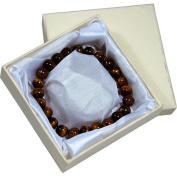 The Premium Connexion Bret Roberts Tiger Eye Strand Bracelet