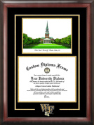 Campus Images NC991SG Wake ForestUniversity Spirit Graduate Frame with Campus Image