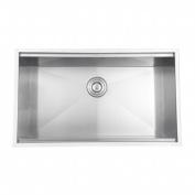 Ruvati RVH8300 Undermount 16 Gauge 81.3cm . Kitchen Sink Single Bowl