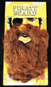 Costumes For All Occasions Cb54Bn Beard Pirate Brown