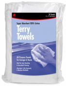 Buffalo Industries 60221 24 Count 35.6cm . X 43.2cm . Terry Towels