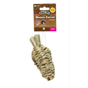 Super Pet 276836 Large Super Pet Natural Sisal Carrot Toy