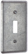 Thomas and Betts 58-C-30 Single Gang Single Toggle Utility Box Cover