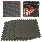 ADG Ultimate Comfort Black Foam Flooring - 1.5sqm