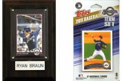 C and I Collectables 11BREWERSFP MLB Milwaukee Brewers Fan Pack