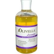 Olivella 0440065 Bath and Shower Gel Lavender - 16.9 oz