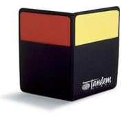 Tandem Sport TSCARDS Penalty Cards with These Red and Yellow Cards