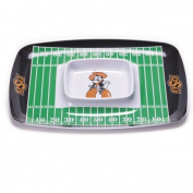 BSI PRODUCTS 32047 Chip and Dip Tray - Oklahoma State Cowboys