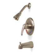 Quality Home Items 120466 Tub and Shower Faucet in Brushed Nickel