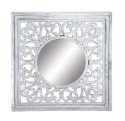 Woodland Import 27445 Wall Mirror with Smooth & Glossy Finish