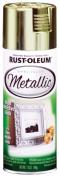 Rustoleum 1936 830 Brass MetallicSpecialty Spray Paint - Pack of 6
