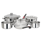 Magma Nesting 10 Piece S.S. Cookware Set - A10-360L