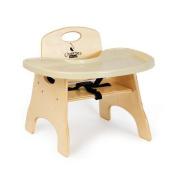 Jonti-Craft 6820JC Premium Tray High Chairries - 12.7cm . Seat Height