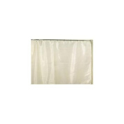 Carnation Home Fashions SC-FAB/108/08 70 in. x 72 in. Fabric Shower Curtain Liner - Ivory