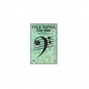 Alfred 00-SVBM00014 Folk Songs for Men - Music Book