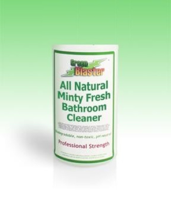 Green Blaster Products GBBSM1G Minty Fresh All Natural Bath & Shower Cleaner 3.8l Refill