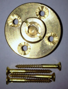 Arctic Armour WS005 Brass Anchor with Screws for Wood Deck