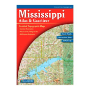 Delorme 240024 Mississippi Atlas and Gazetteer