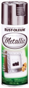 Rustoleum 1915-830 Silver Metallic Specialty Spray Paint - Pack of 6