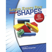Gryphon House 16247 Learn Every Day About Shapes Book - Paperback