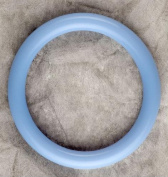 Teething Bling CCBP Cotton Candy Blue Bangle