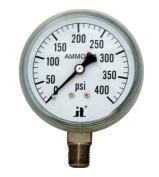 Zenport Industries APG400 0 . 400 PSI Ammonia Pressure Gauge
