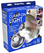 Howard Berger Co R408B 21.6cm . Aluminium Clamp On Light