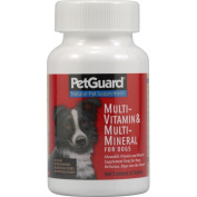 Petguard 0709709 Multi-Vitamin and Multi-Mineral For Dogs - 50 Tablets