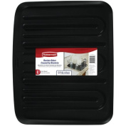 Rubbermaid Antimicrobial Drain Board, Large, Black