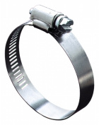 Ideal Division-stant .127cm . To 1-.15.2cm . Hy-Gear Worm Drive Clamps 5710053 - Pack of 10