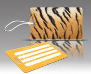 Insight Design 770478 TagCrazy Luggage Tags- Tiger Print- Set of Three
