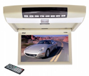 SOUND AROUND-PYLE INDUSTRIES PLRD94 9.4 in. Flip Roof Mount Monitor and DVD Player