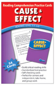 Edupress EP-3402 Cause & Effect Practice Cards- Reading Levels 5.0-6.5