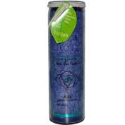 Aloha Bay 0278317 Unscented Chakra Jar Abundance Indigo - 1 Candle