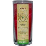 Aloha Bay 0285189 Chakra Candle Jar Money - 11 oz