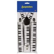 Beistle 60813 Piano Keyboard Suspenders
