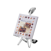 Forked Up Art S35 Cookbook Holder - Spoon
