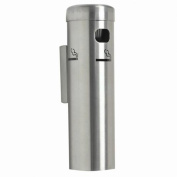 Aarco Products SS15W Wall Mounted Cigarette Receptacle - Satin