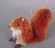 Brushart BRUSHOR23 Squirrel Red Ornament
