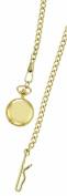 Charles-Hubert- Paris Brass Gold-Plated Quartz Pendant #6767