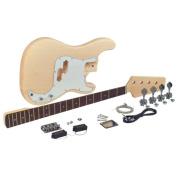 Custom-Built P-Style Electric Bass Kit from SAGA