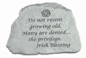 Kay Berry- Inc. 47420 Do Not Resent Growing Old - Memorial - 6.5 Inches x 4.5 Inches x 1.5 Inches