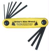 Pine Ridge Archery Prod 2519 Archers Allen Wrench Set with Hlst